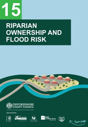 Flood Guide 15: Riparian Ownership and Flood Risk