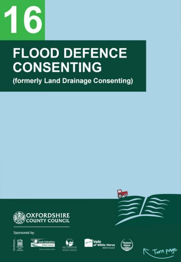 Flood Guide 16: Flood Defence Consenting