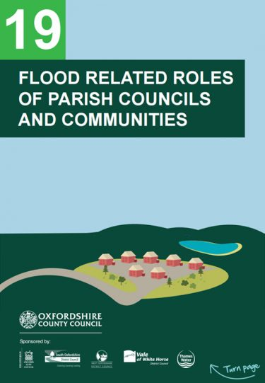 Flood Guide 19: Flood Related Roles of Parish Councils and Communities