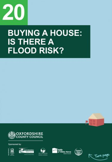 Flood Guide 20: Buying a House: Is there a Flood Risk?