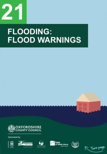 Flood Guide 21: Flood Warnings