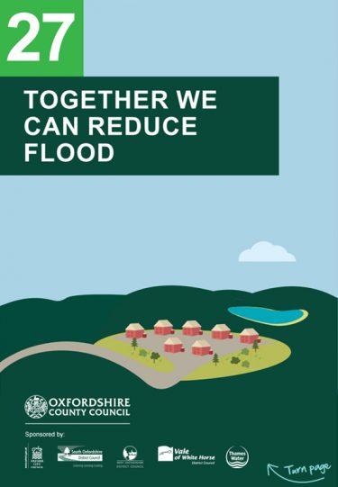 Flood Guide 27: Together we can Reduce Flood Risk