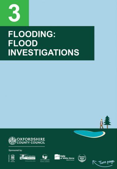 Flood Guide 3: Flood Investigations
